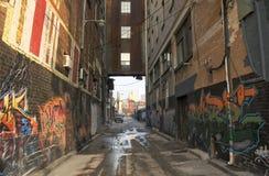 Calle secundaria Fotografía de archivo