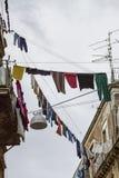 Calle siciliana imagenes de archivo