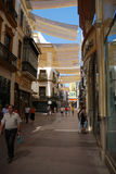 Calle Sierpes (Snakes street), Seville Stock Photo