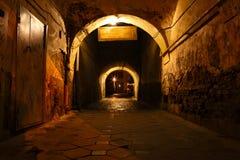 Calle sucia Fotografía de archivo