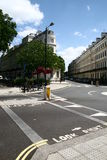 Calle típica de Londres Imagenes de archivo