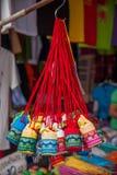 Calle tailandesa de las mercancías de la artesanía Imagen de archivo libre de regalías