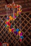 Calle tailandesa de las mercancías de la artesanía Fotografía de archivo libre de regalías