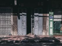 Calle Tailandia en Bangkok foto de archivo