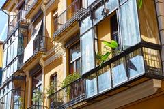 Calle también Serrans de Valencia Serranos Imagen de archivo libre de regalías