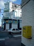 Calle tipical de Calais Fotos de archivo