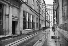 Calle trasera Imágenes de archivo libres de regalías