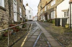 Calle trasera en Richmond, Yorkshire Fotografía de archivo libre de regalías
