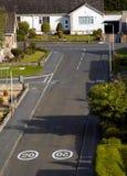 Calle urbana imagen de archivo