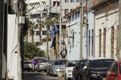 Calle urbana en Tel Aviv Fotos de archivo libres de regalías