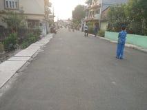 Calle vacía Imagen de archivo libre de regalías