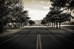 Calle vacía Fotografía de archivo