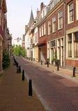 Calle vacía de Utrecht Imagenes de archivo