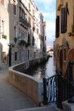 calle veneziana Obrazy Royalty Free