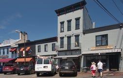 Calle vieja 1 de Annapolis Imagen de archivo libre de regalías