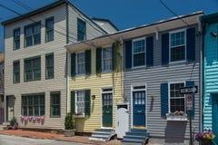 Calle vieja 4 de Annapolis Imagenes de archivo