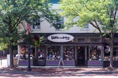 Calle vieja 2 de Annapolis Fotos de archivo libres de regalías