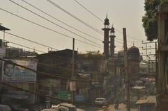 Calle vieja de Bhopal de la ciudad imagen de archivo