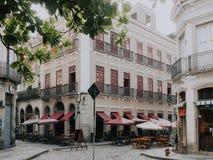 Calle vieja de Centro en Rio de Janeiro imagenes de archivo