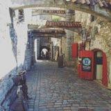 Calle vieja de la ciudad Foto de archivo