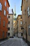 Calle vieja de la ciudad Fotografía de archivo