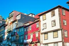 Calle vieja de la ciudad de Oporto Fotos de archivo