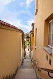 Calle vieja de la ciudad, Varsovia, Polonia Fotos de archivo libres de regalías