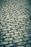 Calle vieja del guijarro Fotos de archivo