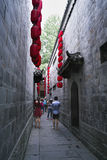 Calle vieja del jinli de Chengdu Imágenes de archivo libres de regalías