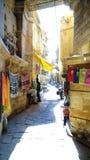 calle vieja en Jaisalmer fotografía de archivo libre de regalías
