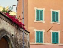 Calle vieja en Roma Foto de archivo libre de regalías