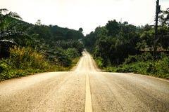 Calle y camino. Fotos de archivo libres de regalías