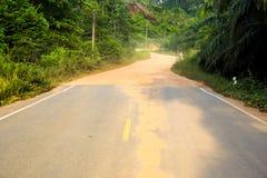 Calle y camino. Foto de archivo libre de regalías