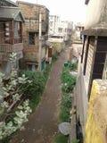 Calle y ciudad Foto de archivo libre de regalías