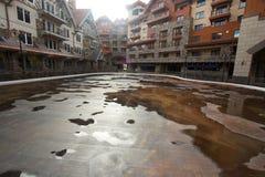 Calle y edificios Fotos de archivo libres de regalías