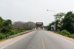 Calle y puente Fotografía de archivo libre de regalías