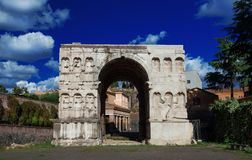 Arch of Janus in Rome Royalty Free Stock Images