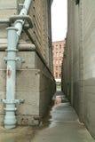 Callejón Brooklyn New York City de DUMBO Imagen de archivo