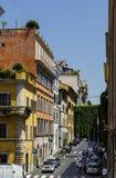 Callejón cerca de la plaza Venezia Fotografía de archivo libre de regalías