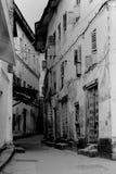 Callejón, ciudad de piedra, Zanziba Imagenes de archivo