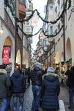 Callejón de Bolzano Imagen de archivo libre de regalías