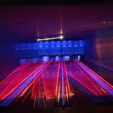 Callejón de bowling Fotografía de archivo libre de regalías