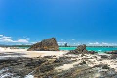 Callejón de Currumbin en el Gold Coast en Queensland, Australia Fotografía de archivo