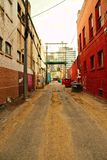 Callejón de la ciudad Imagen de archivo