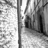 Callejón de la ciudad Fotos de archivo