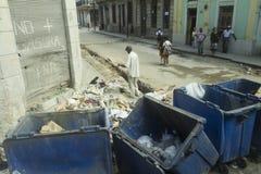 Callejón de La Habana, Cuba Imagen de archivo libre de regalías