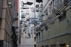Callejón de la jaula de pájaros Imagen de archivo