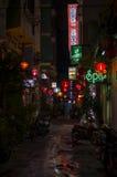 Callejón de la parte posterior de Saigon fotografía de archivo