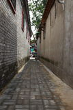 Callejón de Pekín Imágenes de archivo libres de regalías