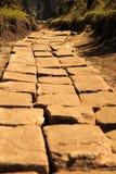 Callejón de piedra - en el campo Imagen de archivo libre de regalías